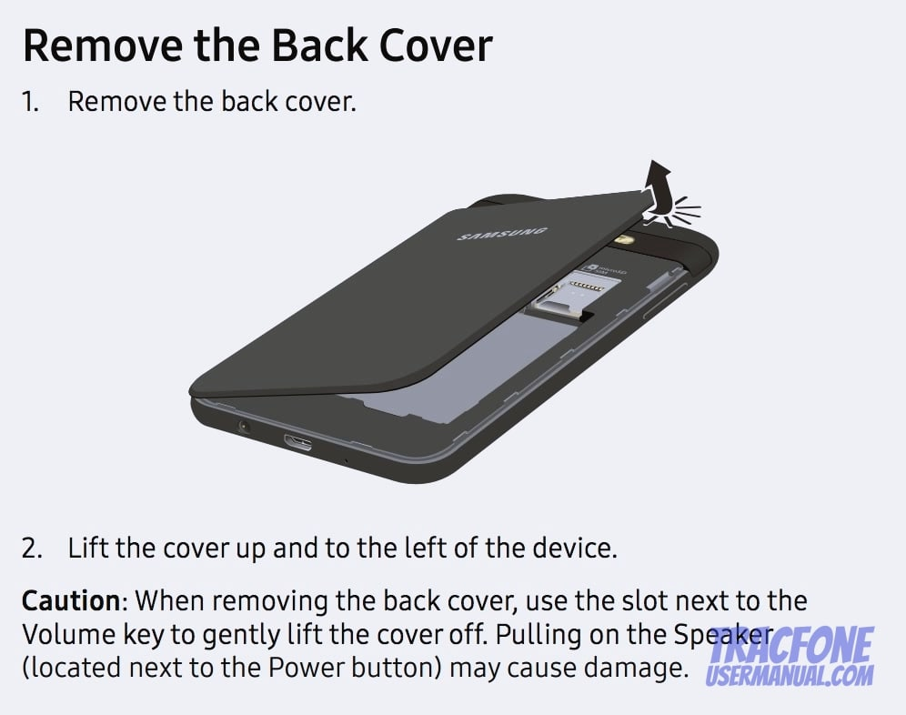 TracFone Samsung Galaxy J3 Luna Pro S327VL User Manual