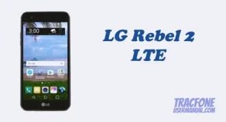 TracFone LG Rebel 2 LTE L57BL / L58VL