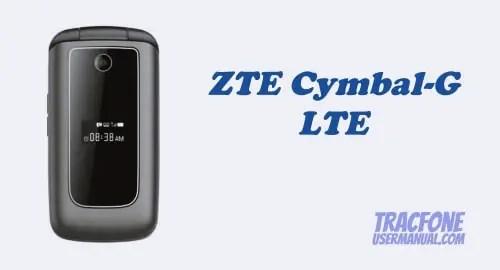 TracFone ZTE Cymbal-G LTE Z232TL / Z233VL