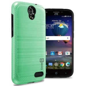 ZTE ZMAX Champ / Grand Chrome Series Case by CoverON