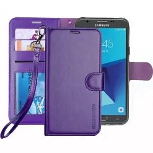 Samsung Galaxy J7 Sky Pro Wallet Flip Case by ERAGLOW