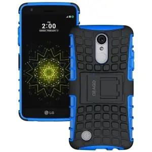 LG Rebel 3 Kickstand Protective Case by OEAGO