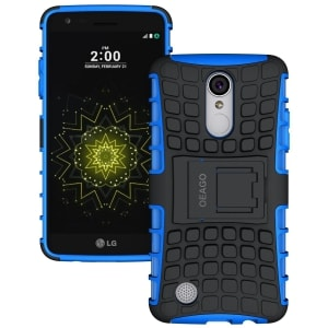 LG Rebel 3 Kickstand Protective Case by OEAGO