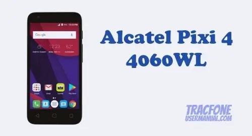 Alcatel Pixi 4 4060WL