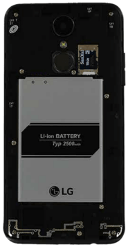 TracFone LG Rebel 3 LTE L157BL / L158VL: Find SIM Number