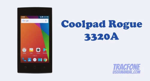 TracFone Coolpad Rogue 3320A