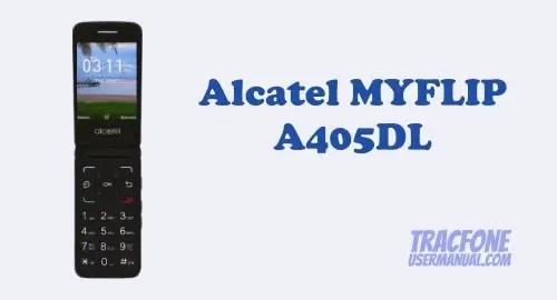 Alcatel MYFLIP User Manual