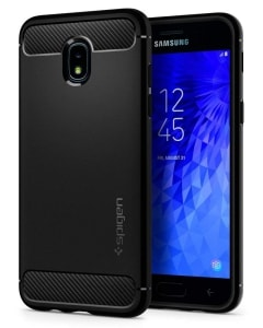 Galaxy J3 Orbit Carbon Fiber Design Case by Spigen