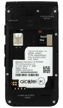 Alcatel MyFlip Insert Battery