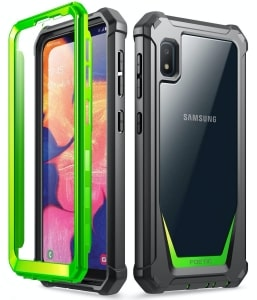 Samsung Galaxy A10e Rugged Clear Case by Poetic
