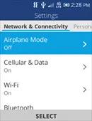 Alcatel MyFlip Connectivity