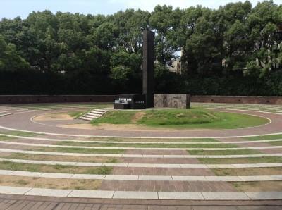 นางาซากิ Nagasaki Epicenter Ground Zero Momument