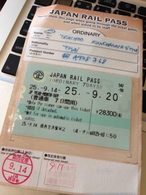 JR Pass เที่ยวญี่ปุ่นแบบประหยัด