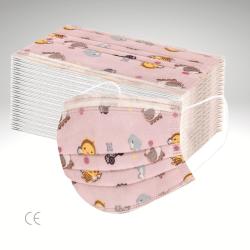 Kinder Maske rosa