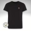 T-Shirt Hippo schwarz