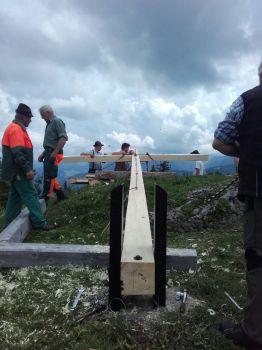 2018: Gipfelkreuz, Trachtenverein Jachenau e.V.