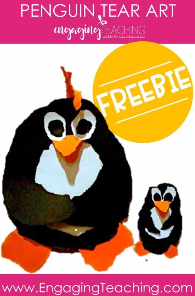 Penguin Tear Art