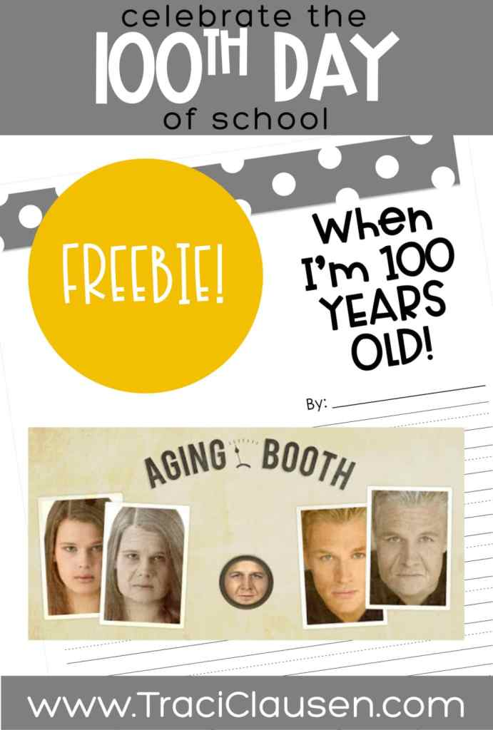 Aging Booth app and When I'm 100 years old stationary