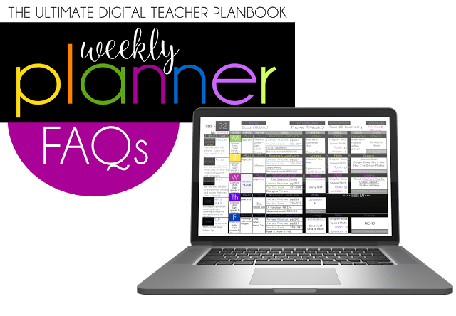 The Ultimate Digital Weekly Planner FAQs
