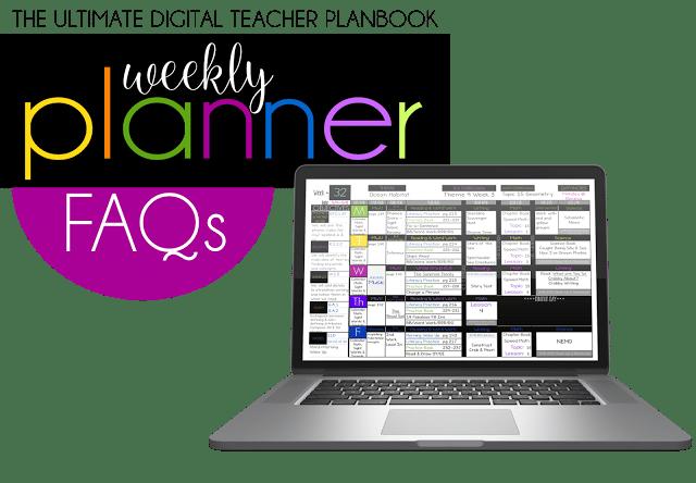 The Ultimate Digital Weekly Planner FAQs