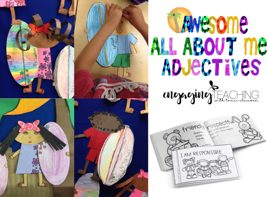 All About Me Adjectives Feature Image
