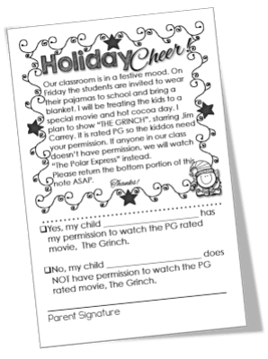 Holiday Classroom Idea FREEBIES - Engaging Teaching with Traci Clausen