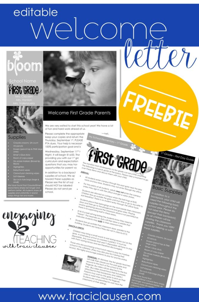 Back to School Parent Guide • Keeping Parents Informed - Editable