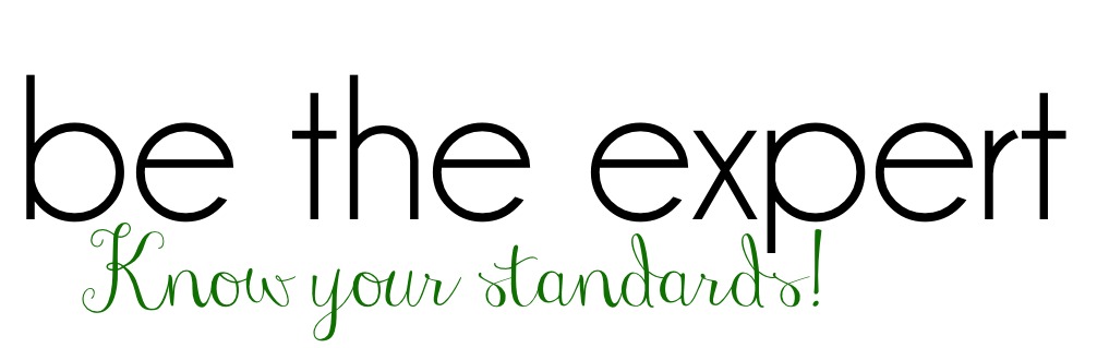 year curriculum mapping and planning - be the expert_Know your standards