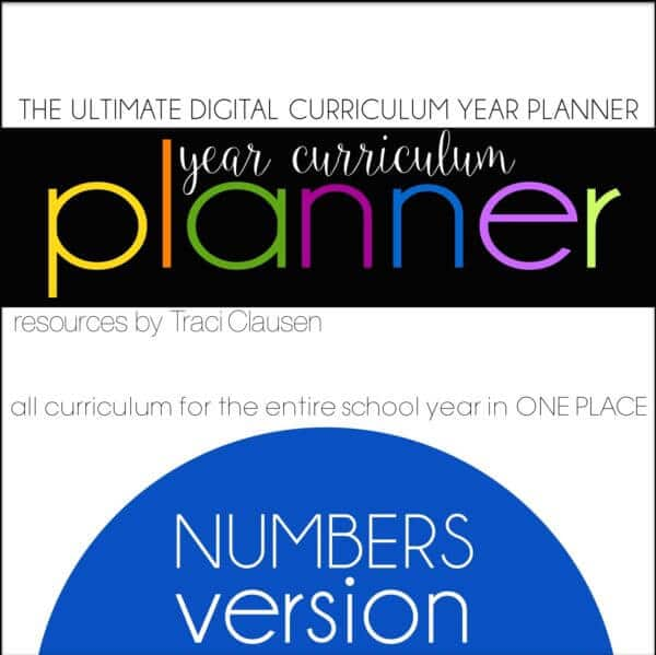 Year Curriculum Mapping and Planning - Traci Clausen - Engaging Teaching