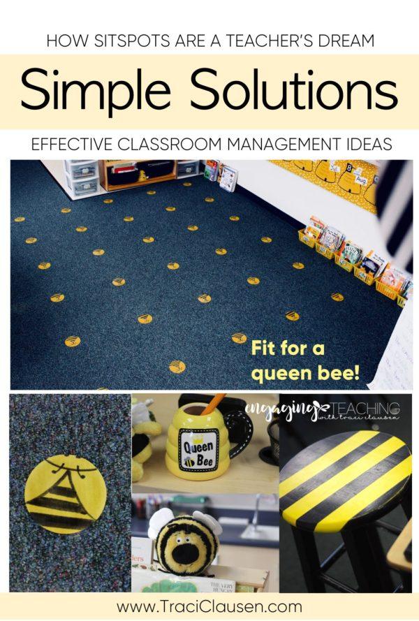 Sit Spots Bees