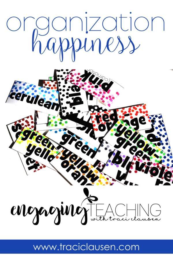 Crayon Organization Happiness