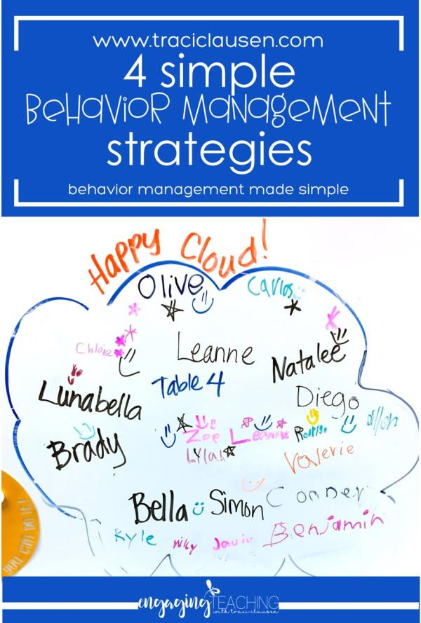 Behavior Management Happy Cloud