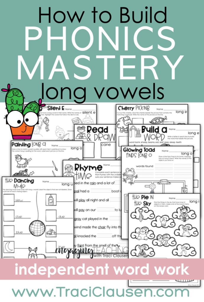 long vowel activities