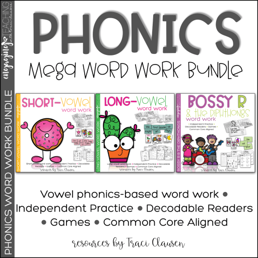Phonics Mega Word Work