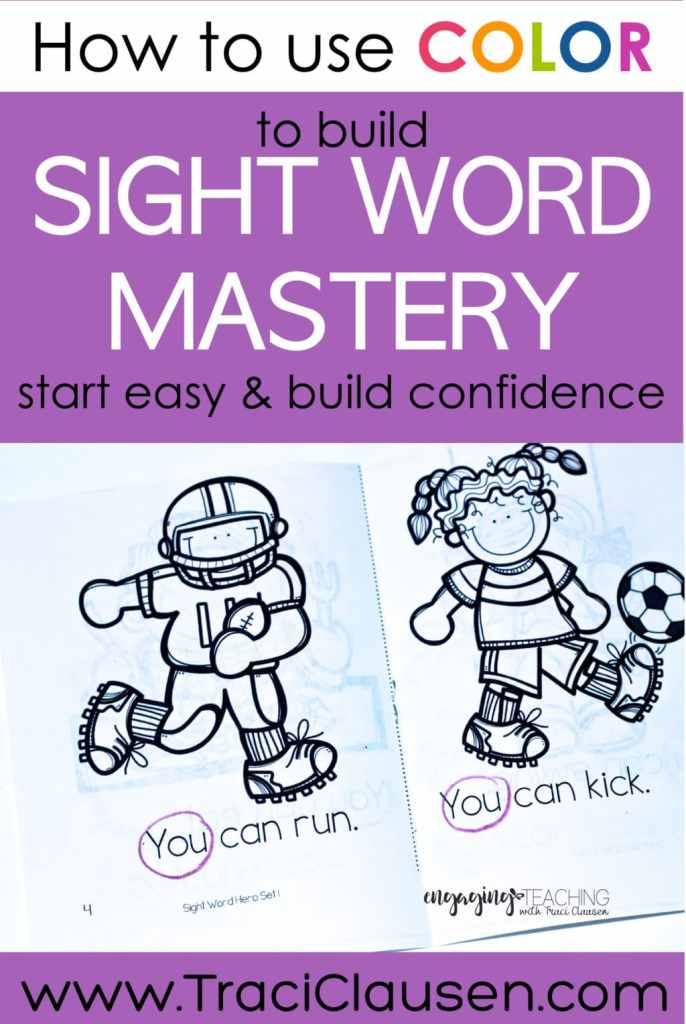 Sight Word Hero books