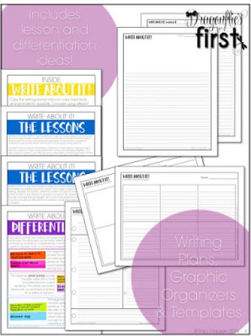Write About It! Writing Prompts - Engaging Teaching with Traci Clausen