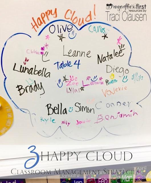 Happy cloud classroom management - engagingteaching.com