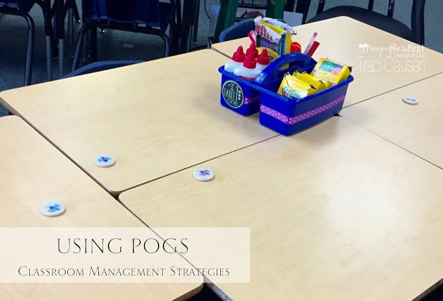 Using pogs for classroom management, engagingteaching.com