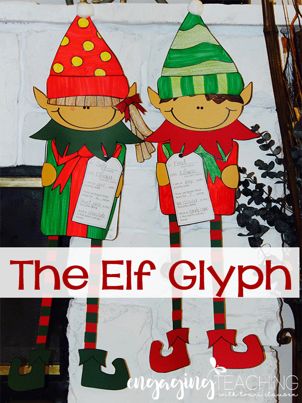 Elf Glyph and Narrative Writing Lesson - Engaging Teaching with Traci Clausen