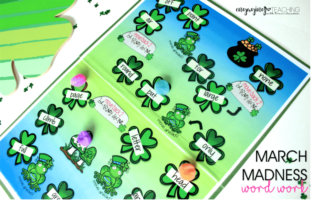 Shamrock Hop - March Resource Round Up - March Madness - Traci Clausen