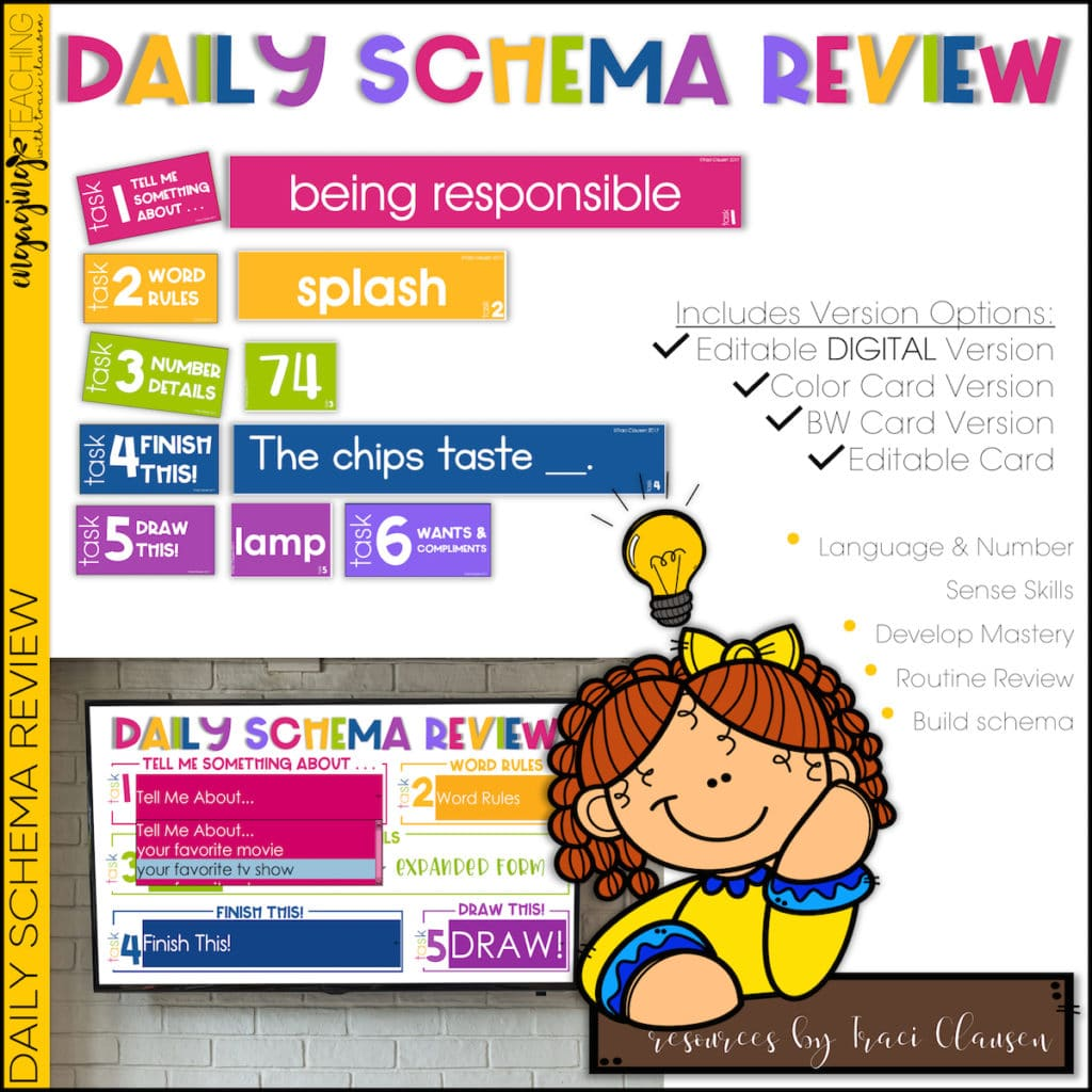 Daily Schema Review Resource Cover
