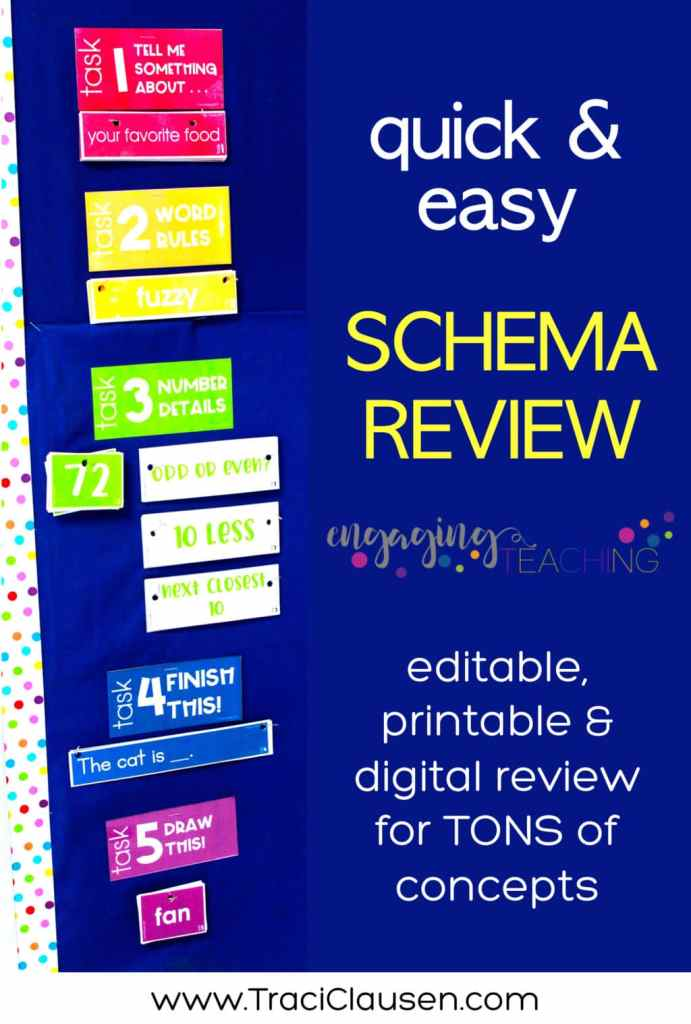 Schema Review Bulletin Board Display