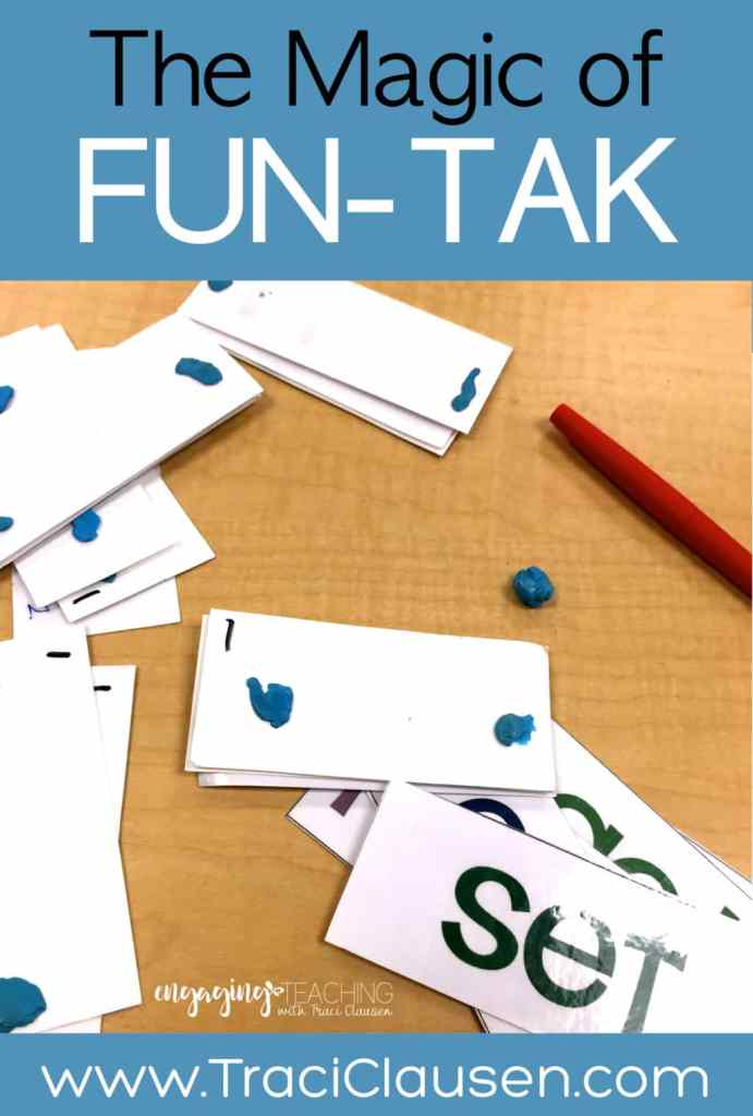 Fun-tak on cards