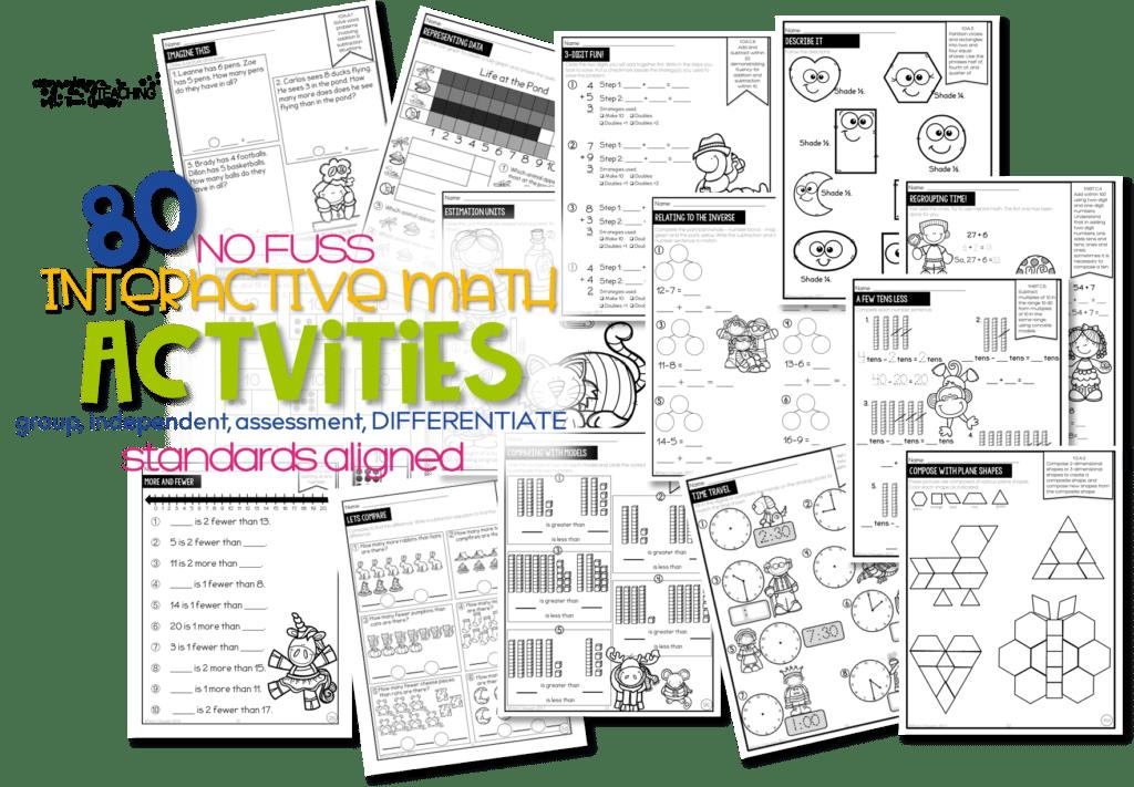 No Fuss Math Daily Activities