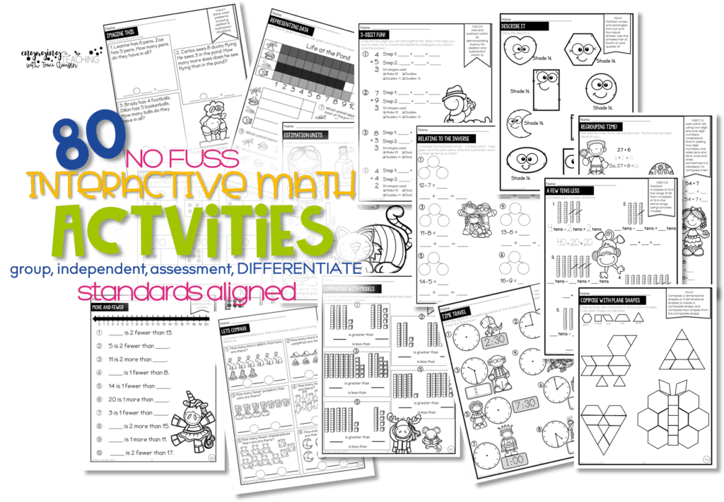 No Fuss Math Daily Activities