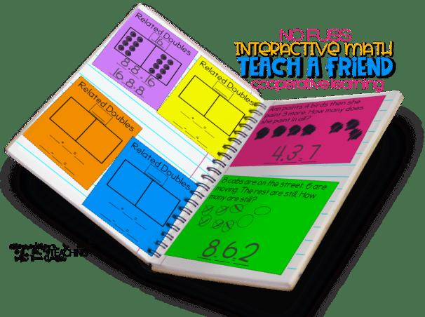 No Fuss Math alternative Teach a Friend Components