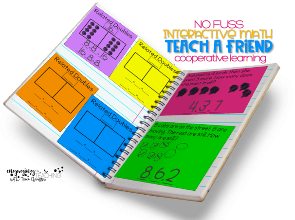 No Fuss Math alternative Teach a Friend Components