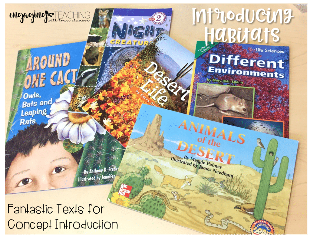 Introducing Habitats with Deserts. Informational Read-Alouds. Engaging and Rich Social Studies and Science Content - TraciClausen.com