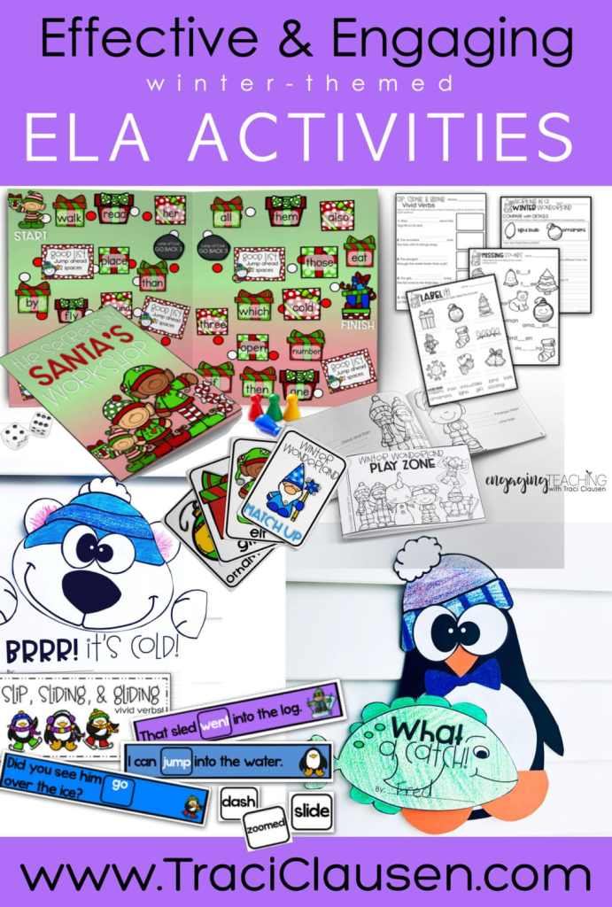 winter-themed ela activities