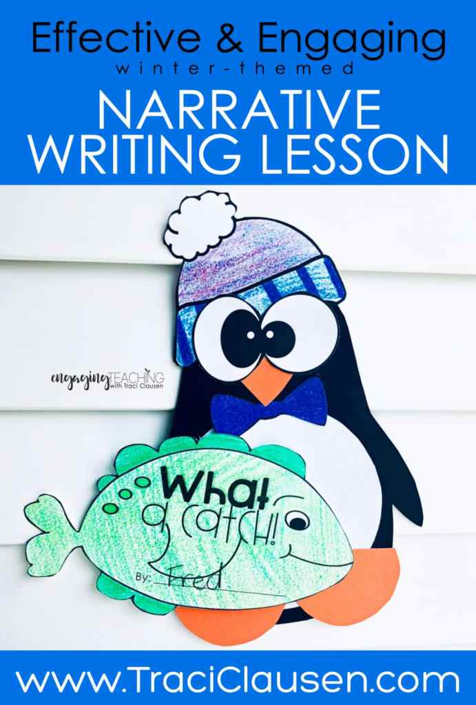 Penguin and fish craft